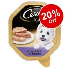Cesar Wet Dog Food - 20% Off!*