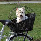 Cesta con rejilla para bicicletas Trixie