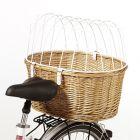 Cesta posteriore da bici con grata protettiva