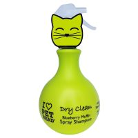 Champú PET HEAD Dry Clean Spray para gatos
