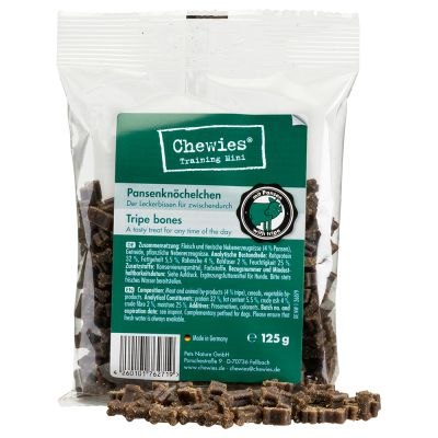 Chewies Mini Bone Treats Mixed Pack 6 x 125g