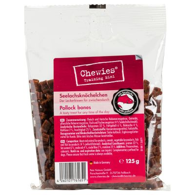 Chewies Mini Bone Treats (Semi-Moist) 125g