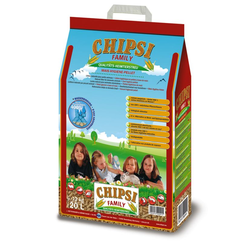 Chipsi Family Hygieniapelletit Maissista