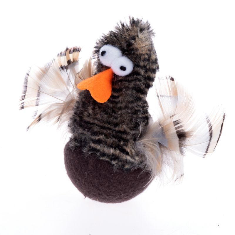 Chirping Rolling Duck Cat Toy