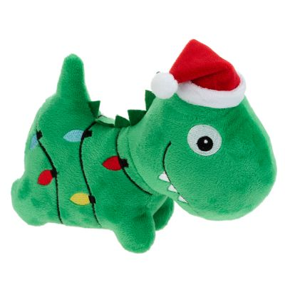 Christmas Dino Dog Toy