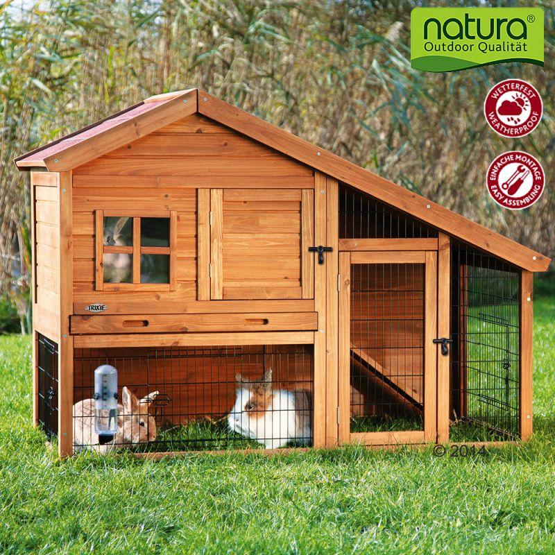 Clapier Natura Luxus Petit Modele Pour Rongeur Et Lapin Zooplus