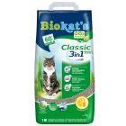 Classic Fresh 3 em 1 areia aglomerante para gatos