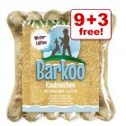 12cm Barkoo Duck & Apple Chew Dog Bones - 9 + 3 Free!*