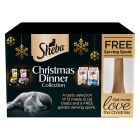 Coffret Sheba Christmas Dinner Collection pour chat