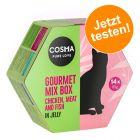 Coffret Gourmet Cosma pour chat à prix d'essai !
