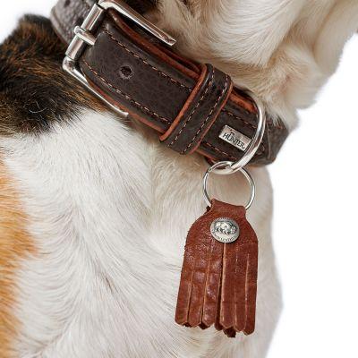 HUNTER Cody Comfort Collar para Perro de Piel de bis/ón