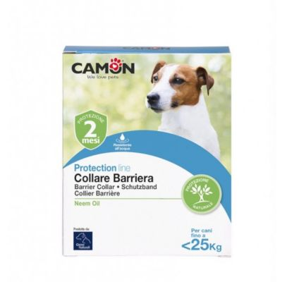 Collare antiparassitario Small & Medium con olio di Neem per cani