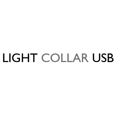 Collare luminoso a LED Eyenimal - blu