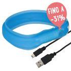 Collare luminoso Trixie Anello Flash USB