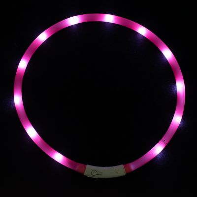 Collare luminoso USB