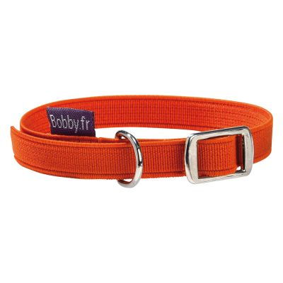 Collier Bobby Flex, orange pour chat