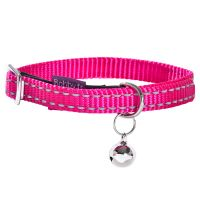 Collier Bobby Safe, fuchsia pour chat