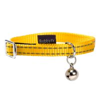 Collier Bobby Safe, jaune pour chat