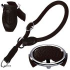 Collier de dressage pour chien Hunter Freestyle, noir