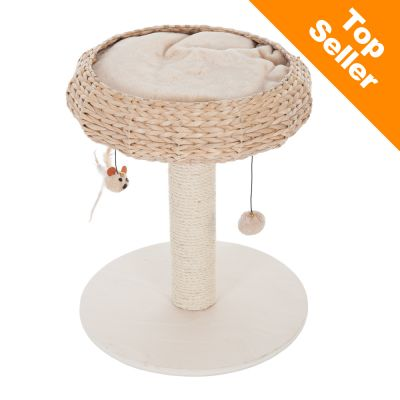 Combi Deal: Krabpaal Natural Home I + Kattenhengel Bird gratis!
