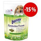 Comida Bunny Kaninchen Traum HERBS para conejos ¡con descuento!