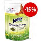 Comida Bunny para conejos 4 kg  ¡con descuento!