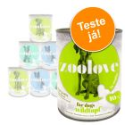 Comida húmida zoolove - Pack de experimentação