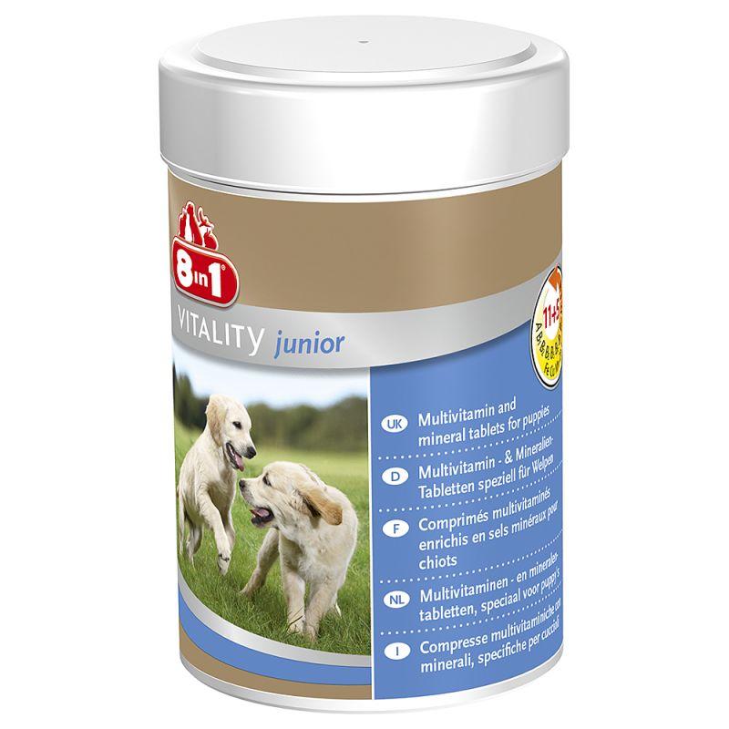 Comprimés 8in1 Vitality Junior pour chien