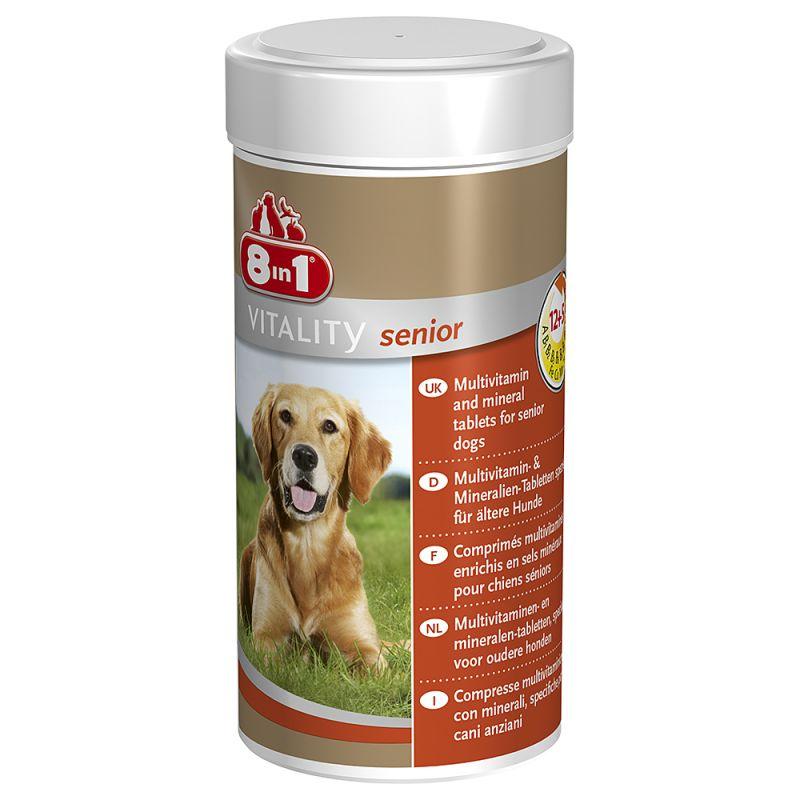 Comprimés 8in1 Vitality Senior pour chien