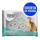 Concept for Life 4 x 85 g - Pack de prueba mixto