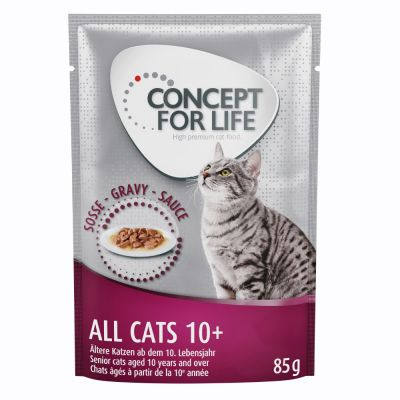 Concept for Life All Cats 10+ – in Gravy