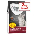 Concept for Life Dry Cat Food Bonus Bags - 10kg + 2kg Extra Free!*