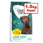 Concept for Life Dry Dog Food Bonus Bags - 12kg + 1.5kg Free!*