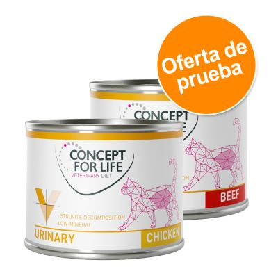 Concept for Life Urinary Veterinary Diet para gatos - Pack mixto