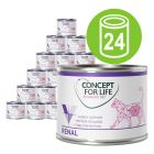 Concept for Life Veterinary Diet 24 x 200 g /185 g økonomipakke