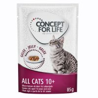 Concept for Life All Cats 10+ en gelée pour chat