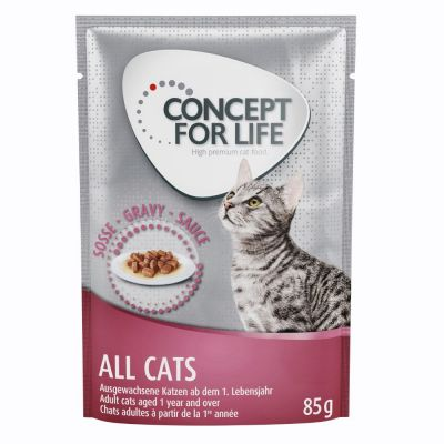 Concept for Life All Cats en sauce pour chat