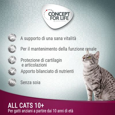 Concept for Life All Cats 10+ - in gelatina