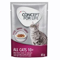 Concept for Life All Cats 10+ - in Saus Kattenvoer