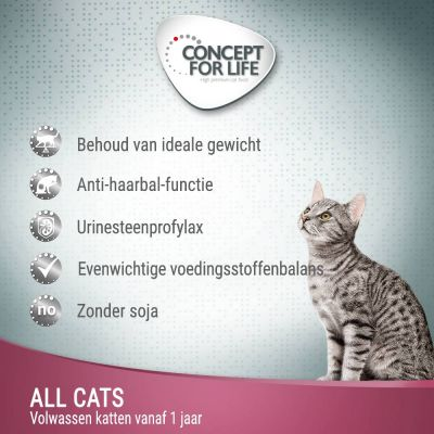 Concept for Life All Cats - in Saus Kattenvoer