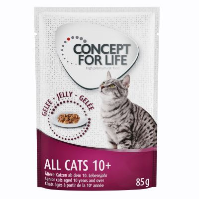 Concept for Life All Cats 10+ med gelé | bitiba.se