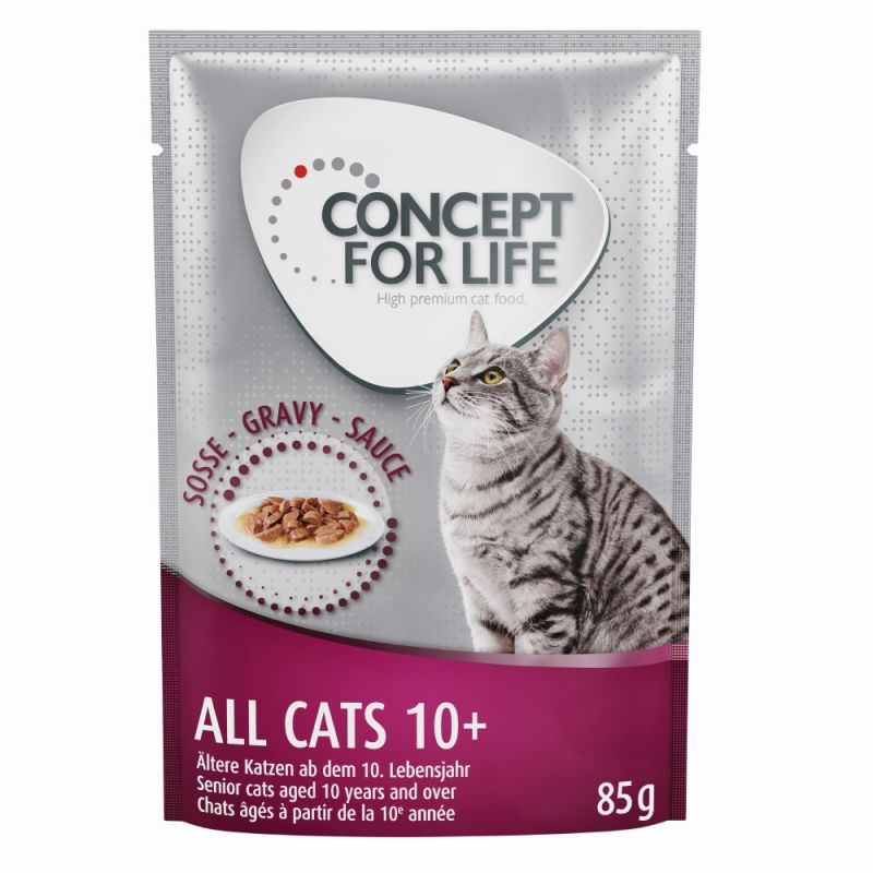 Concept for Life All Cats 10+ - în sos