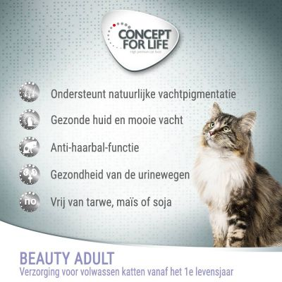 Concept for Life Beauty Adult Kattenvoer