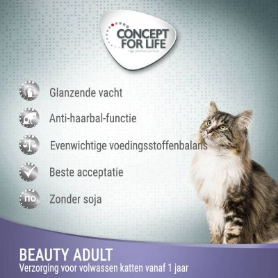 Concept for Life Beauty - in Saus Kattenvoer