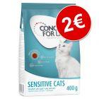 Concept for Life 400 g pienso para gatos ¡por solo 2€!
