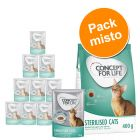 Concept for Life 400 g + 12 x 85 g - Pack misto