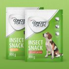 Concept for Life Insect snack