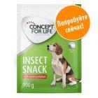Пробная упаковка Concept for Life Insect Snack по суперцене!