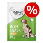 Concept for Life Insect snack 100 g rendkívüli árengedménnyel!