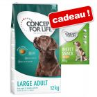 Concept for Life 12 kg + friandises Insect Snack carottes 100 g offertes !